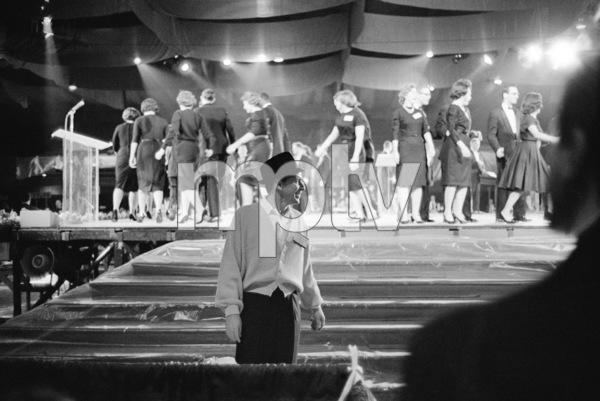 Frank Sinatra at John F. Kennedy