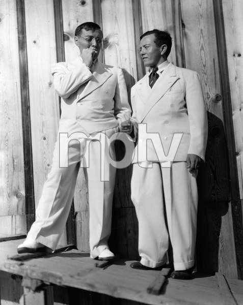THANK YOU MR. MOTO, Peter Lorre and stand in Delmar Costello, I.V. - Image 22611_0001