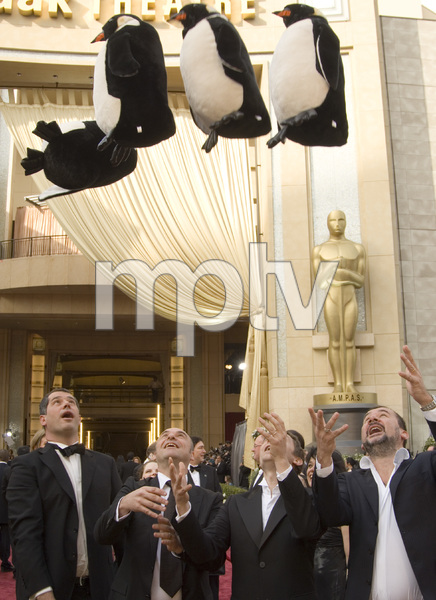 """""""The 78th Annual Academy Awards"""" (Arrivals)The filmmakers of """"March of the Penguins"""" (Emmanuel Priou, Luc Jacquet, Yves Darondeau, Christophe Lioud)03-05-2006 / Kodak Theatre / Hollywood, CA © 2006 AMPAS - Image 22701_0001"""