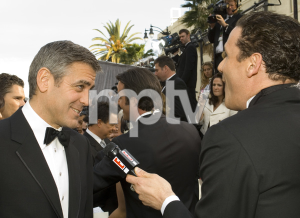 """The 78th Annual Academy Awards"" (Arrivals)George Clooney, Isaac Mizrahi03-05-2006 / Kodak Theatre / Hollywood, CA © 2006 AMPAS - Image 22701_0009"
