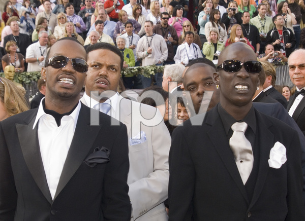 """The 78th Annual Academy Awards"" (Arrivals)Three 6 Mafia (D.J. Paul, Juicy J, Project Pat, Crunchy Black)03-05-2006 / Kodak Theatre / Hollywood, CA © 2006 AMPAS - Image 22701_0019"