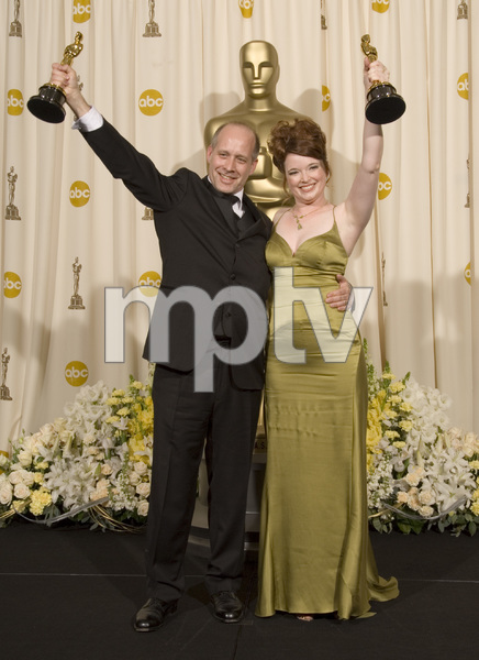 """The 78th Annual Academy Awards"" (Press Room)Corinne Marrinan, Eric Simonson03-05-2006 / Kodak Theatre / Hollywood, CA © 2006 AMPAS - Image 22701_0031"