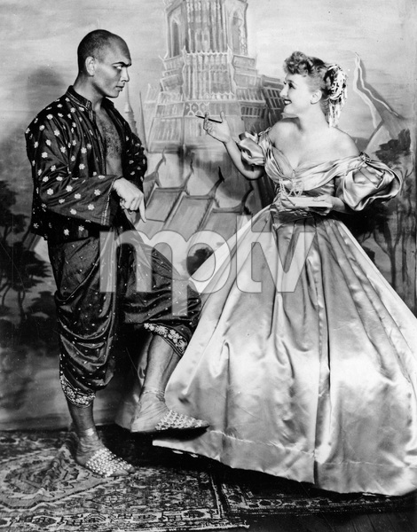 """THE KING AND I"" Yul Brynner and Celeste Holm, Broadway Stage, I.V. - Image 22727_0045"