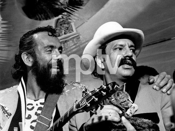 Cheech and Chong, late 1980