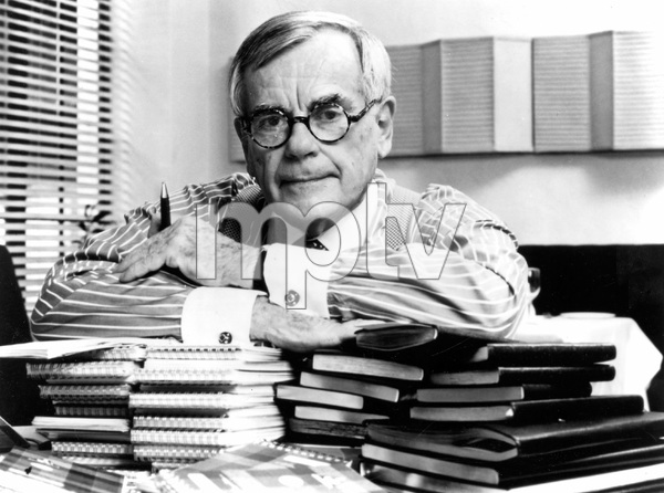 Famous author Dominick Dunne, CBS, 1995, I.V. - Image 22727_0125