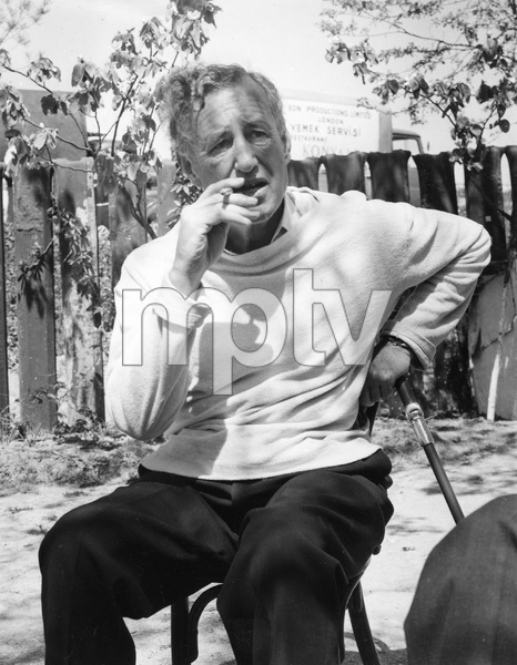 Bond author Ian Fleming visiting the set of FROM RUSSIA WITH LOVE filming in Istanbul, 1963, I.V. - Image 22727_0140