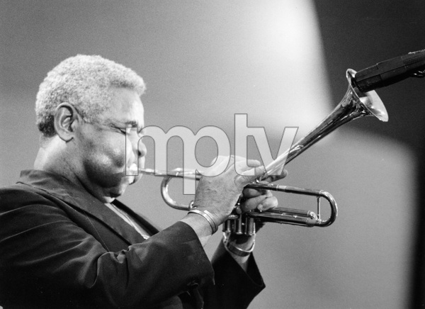 Jazz legend Dizzy Gillespie plays the Hollywood Bowl, 1988, I.V. - Image 22727_0160