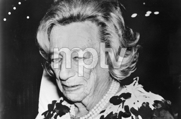 Famous playwright and screenwriter Lillian Hellman, I.V. - Image 22727_0181