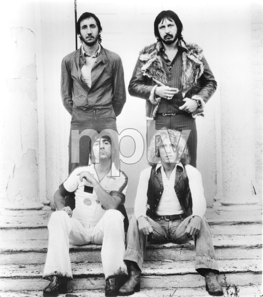 THE WHO, Pete Townsend, Keith Moon, John Entwistle and Roger Daltrey, 1973, I.V. - Image 22727_0391