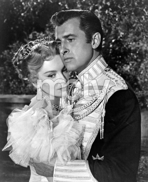 """""""THE PRISONER OF ZENDA"""" Deborah Kerr, Stewart Granger, MGM, 1952, I.V.  - Image 22727_0658"""
