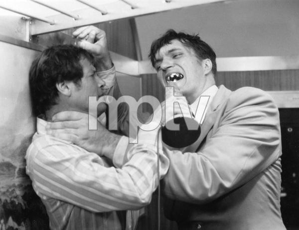 """THE SPY WHO LOVED ME"" Roger Moore and Richard Kiel, UA, I.V. - Image 22727_0707"
