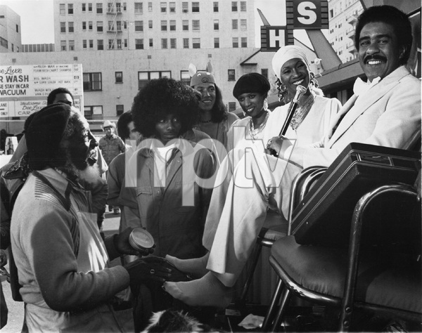 """""""Car Wash""""Richard Pryor, The Pointer Sisters (Anita, Bonnie, June, Ruth), Clarence Muse1976 Universal ** I.V. - Image 22727_0731"""