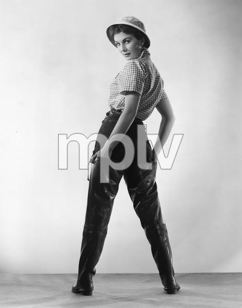 """BEAUTIFUL BUT DANGEROUS"" Jean Simmons, RKO, 1954, I.V. - Image 22727_0830"