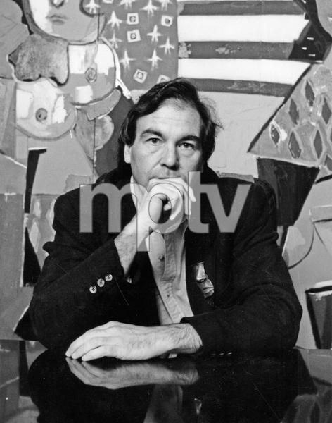 Film director Oliver Stone, 1990, I.V. - Image 22727_0866