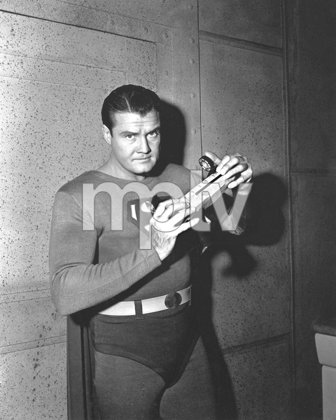 """NEW ADVENTURES OF SUPERMAN"" George Reeves, TV, I.V. - Image 22727_1039"