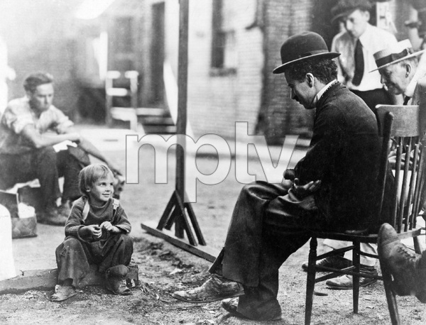 """THE KID"" First National, 1921, Charles Chaplin, Jackie Coogan - Image 22727_1082"