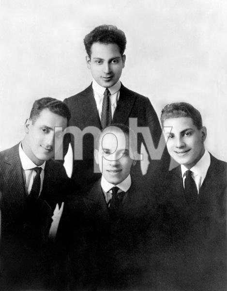 The Marx Brothers (Harpo, Groucho, Chico, Zeppo) 1921 Photo by Apeda ** I.V. - Image 22727_1234