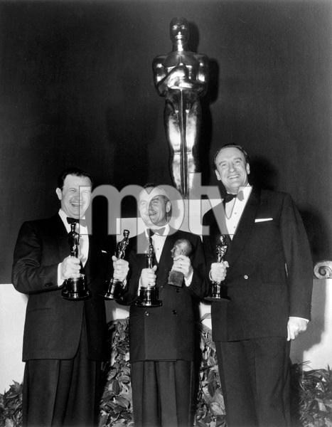 23rd Annual Academy Awards, Joseph Mankiewicz, Darryl Zanuck, George Sanders, 1951, I.V. - Image 22727_1273