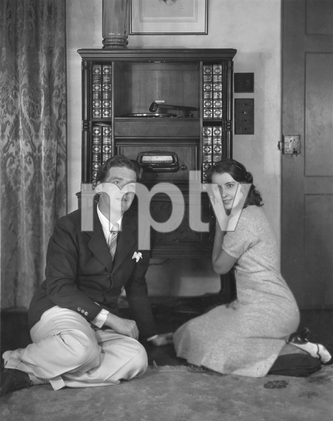 Barbara Stanwyck with husband Frank Fay, early 1930
