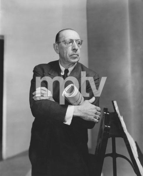 Composer and conductor Igor Stravinsky, I.V. - Image 22727_1286