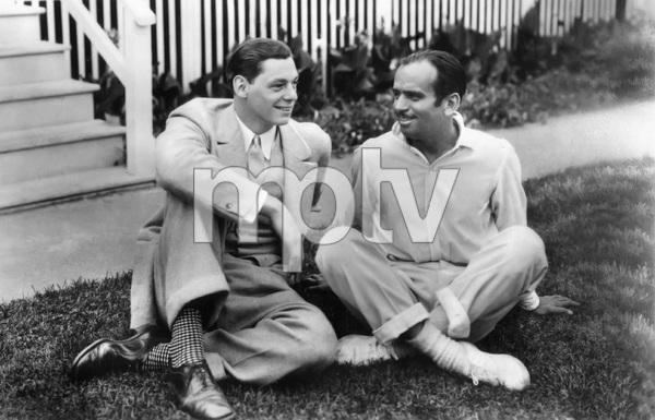 Johnny Weissmuller and Douglas Fairbankscirca 1920s** I.V. - Image 22727_1354