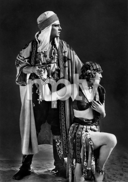 """""""The Son of the Sheik"""" Rudolph Valentino, Vilma Banky1926 United Artists** I.V. - Image 22727_1463"""