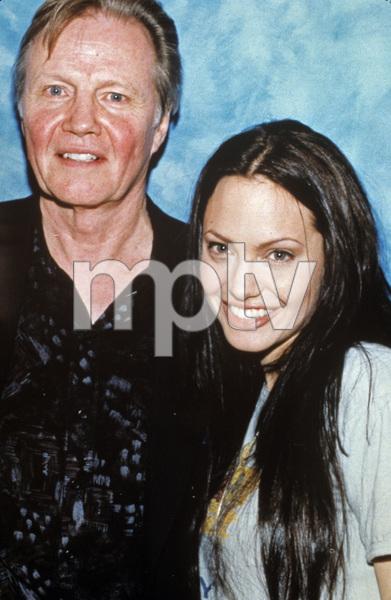 Jon Voight and Angelina Joliecirca 2001 © 2006 Jean Cummings - Image 22776_0001