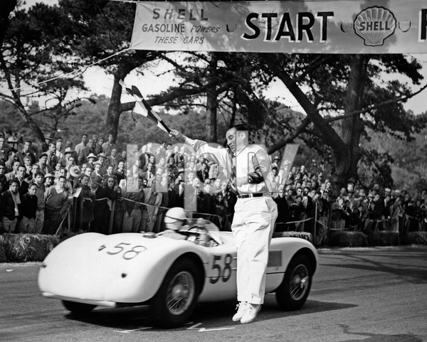 CarsGolden Gate race 1953Masten Gregory car # 58Jaguar C Type** H.C. - Image 22813_0004