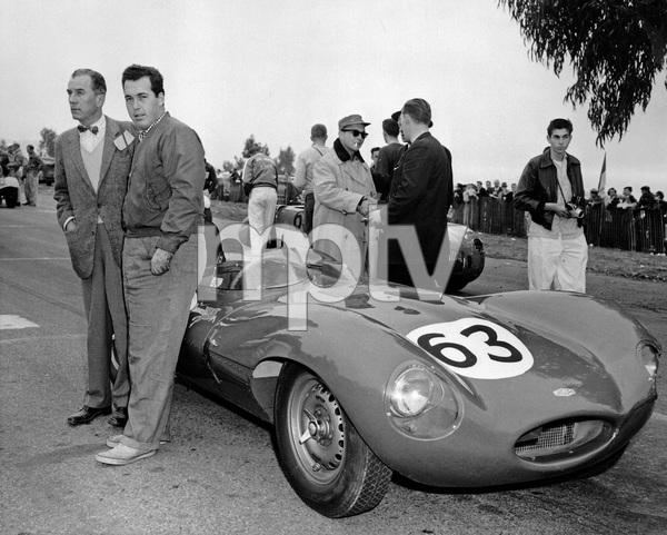 Cars1955 Jaguar D TypePhoto by Lester Nehamkin** H.C. - Image 22813_0007