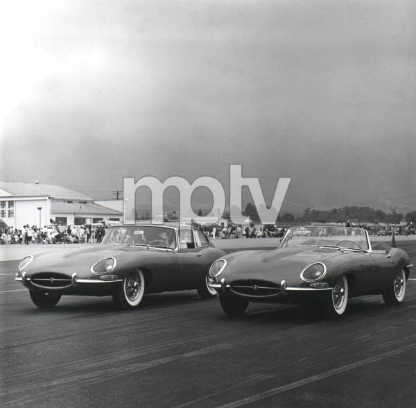 Jaguar E-Type press introduction in Palm Springs, CA1961** H.C. - Image 22813_0022