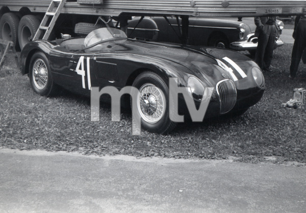 Cars1953 Jaguar C-Type / Elkhart Lake, Wisconsin** H.C. - Image 22813_0023