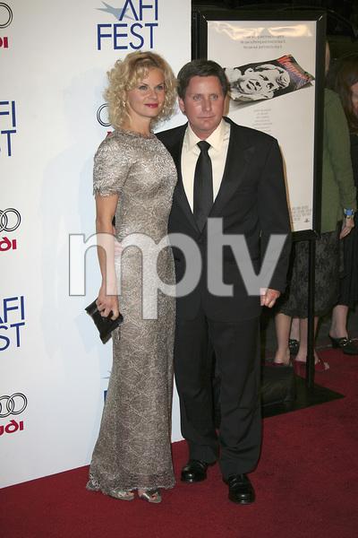 """Bobby"" (AFI Fest Opening Night Gala and U.S. Premiere) Emilio Estevez, Sonja Magdevski  11-01-2006 / Grauman"