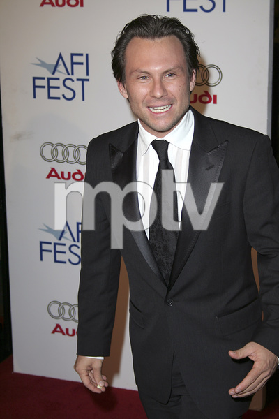 """Bobby"" (AFI Fest Opening Night Gala and U.S. Premiere) Christian Slater 11-01-2006 / Grauman"
