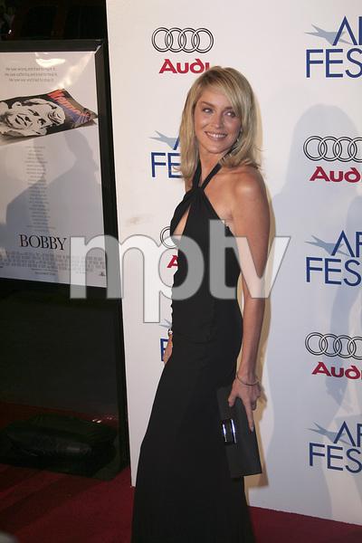 """Bobby"" (AFI Fest Opening Night Gala and U.S. Premiere) Sharon Stone 11-01-2006 / Grauman"