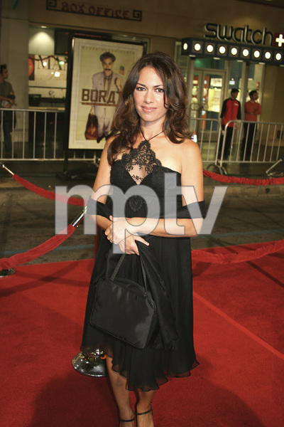 """Borat: Cultural Learnings of America for Make Benefit Glorious Nation of Kazakhstan"" (Premiere)Susanna Hoffs10-23-2006 / Grauman"