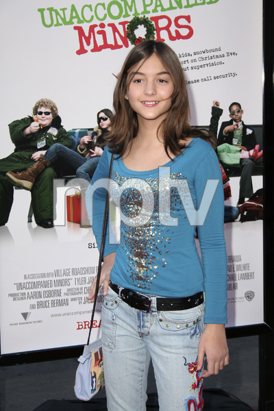 """Unaccompanied Minors"" (Premiere) Quinn Shephard 12-2-2006 / Grauman"