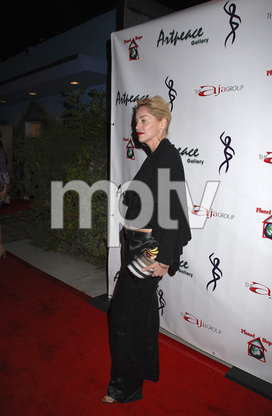 """""""The First Anniversary Celebration of Artpeace Gallery""""Sharon Stone01-20-2007 / Artpeace Gallery / Burbank, CA / Photo by Andrew Howick - Image 22907_0021"""