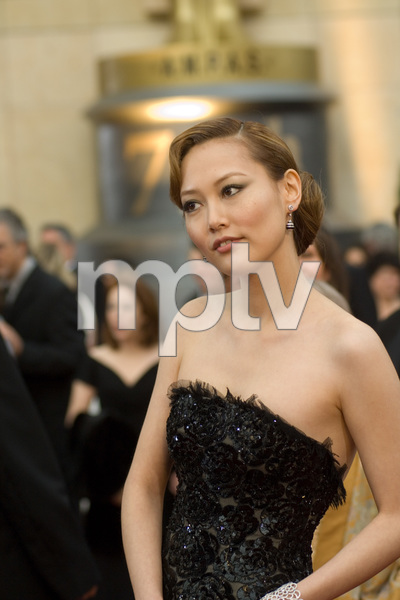 """""""Academy Awards - 79th Annual"""" (Arrivals)Rinko Kikuchi, Academy Award nominee for Best Supporting Actress for her work in """"Babel""""2-25-07Photo by Michael Yada © 2007 A.M.P.A.S. - Image 22938_0131"""