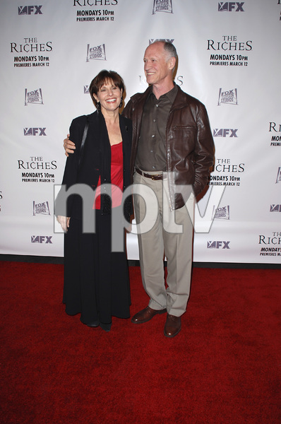 """""""The Riches"""" (Premiere)Eileen Barnett, Bruce French 03-10-2007 / Zanuck Theatre / Los Angeles, CA / FX Network / Photo by Andrew Howick - Image 22955_0014"""