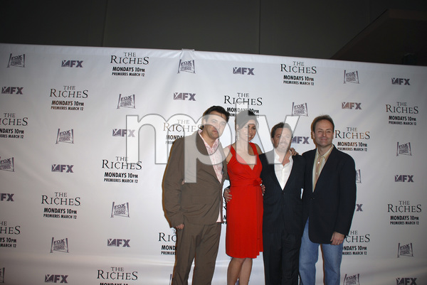 """The Riches"" (Premiere)Dmitry Lipkin, Minnie Driver, Eddie Izzard, John Landgraf03-10-2007 / Zanuck Theatre / Los Angeles, CA / FX Network / Photo by Andrew Howick - Image 22955_0032"