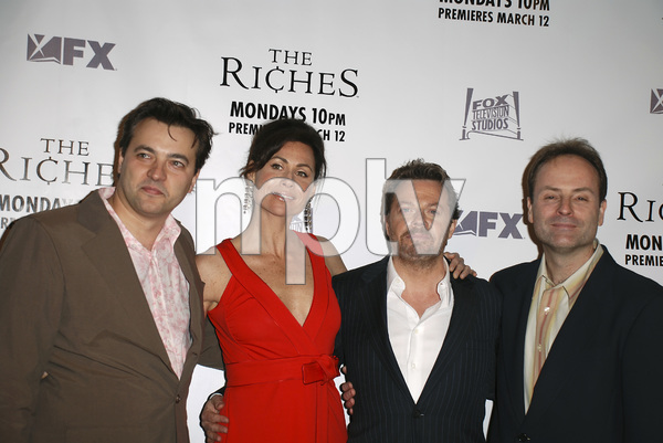 """The Riches"" (Premiere)Dmitry Lipkin, Minnie Driver, Eddie Izzard, John Landgraf03-10-2007 / Zanuck Theatre / Los Angeles, CA / FX Network / Photo by Andrew Howick - Image 22955_0033"