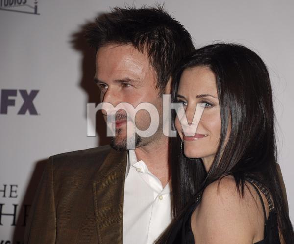 """""""The Riches"""" (Premiere)David Arquette, Courteney Cox Arquette 03-10-2007 / Zanuck Theatre / Los Angeles, CA / FX Network / Photo by Andrew Howick - Image 22955_0045"""