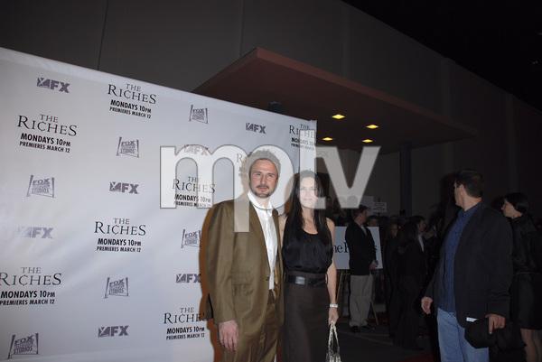 """""""The Riches"""" (Premiere)David Arquette, Courteney Cox Arquette 03-10-2007 / Zanuck Theatre / Los Angeles, CA / FX Network / Photo by Andrew Howick - Image 22955_0048"""