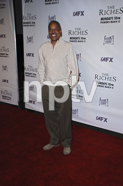 """""""The Riches"""" (Premiere)Larry Elder 03-10-2007 / Zanuck Theatre / Los Angeles, CA / FX Network / Photo by Andrew Howick - Image 22955_0050"""