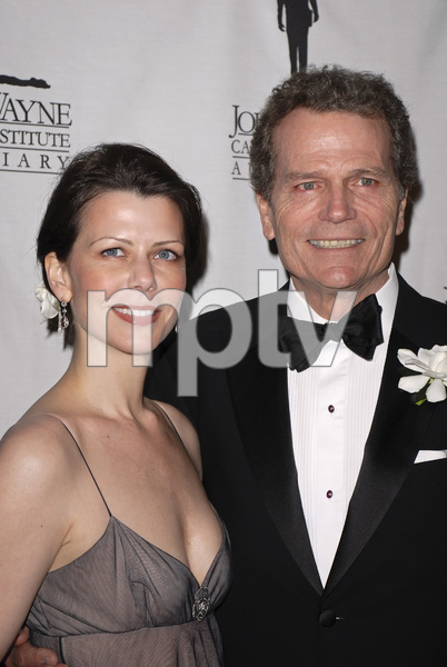 """""""The 22nd Annual Odyssey Ball benefiting the John Wayne Cancer Clinic""""Patrick Wayne and his wife Misha04-14-2007 / Beverly Hilton Hotel / Beverly Hills, CA / Photo by Andrew Howick - Image 22992_0004"""