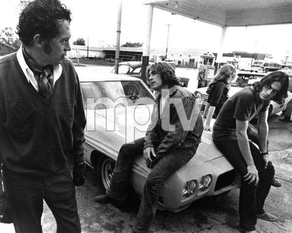 """""""Two-Lane Blacktop""""Warren Oates, Dennis Wilson, James Taylor1971 Universal Pictures** I.V. - Image 23012_0001"""