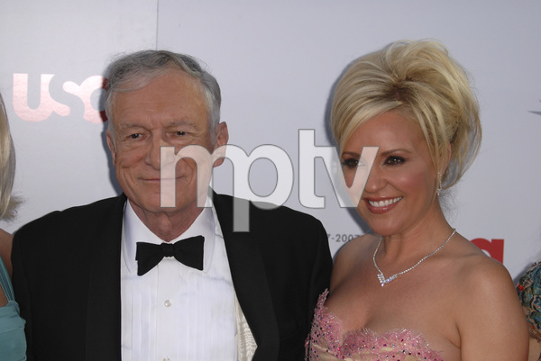 """35th Annual AFI Life Achievement Award Honoring Al Pacino""Hugh M. Hefner, Bridget Marquardt06-07-2007 / Kodak Theatre / Hollywood, CA / Photo by Andrew Howick - Image 23094_0004"