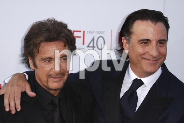 """35th Annual AFI Life Achievement Award Honoring Al Pacino""Al Pacino, Andy Garcia06-07-2007 / Kodak Theatre / Hollywood, CA / Photo by Andrew Howick - Image 23094_0035"