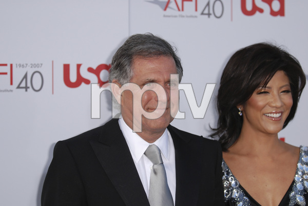 """""""35th Annual AFI Life Achievement Award Honoring Al Pacino""""Julie Chen, Leslie Moonves06-07-2007 / Kodak Theatre / Hollywood, CA / Photo by Andrew Howick - Image 23094_0063"""