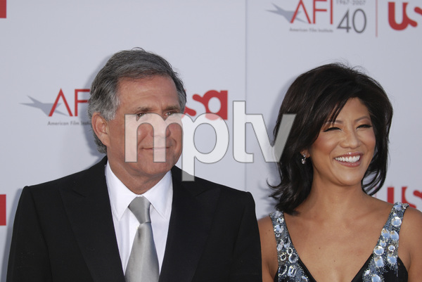 """35th Annual AFI Life Achievement Award Honoring Al Pacino""Julie Chen, Leslie Moonves06-07-2007 / Kodak Theatre / Hollywood, CA / Photo by Andrew Howick - Image 23094_0064"